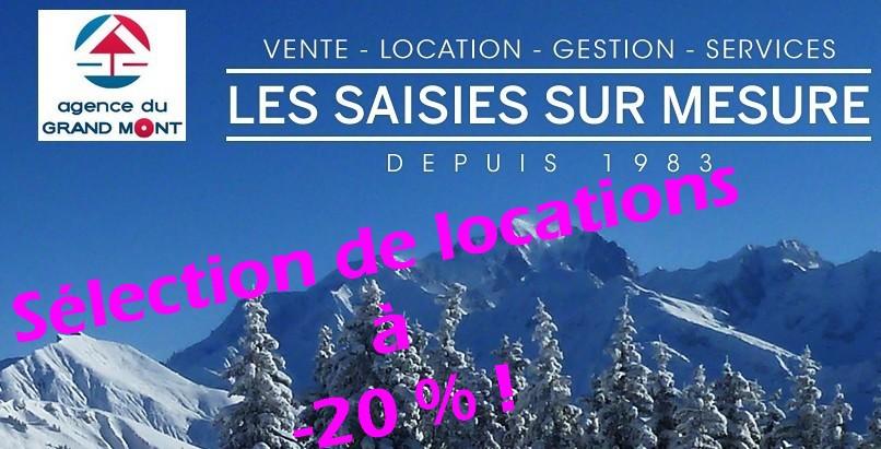 Promotion debut Février-10 % sur une selection de locations