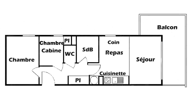 Appartements Cristal 6